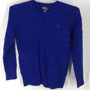Ralph Lauren Cable Knit Big Boy's Sweater (P2031)